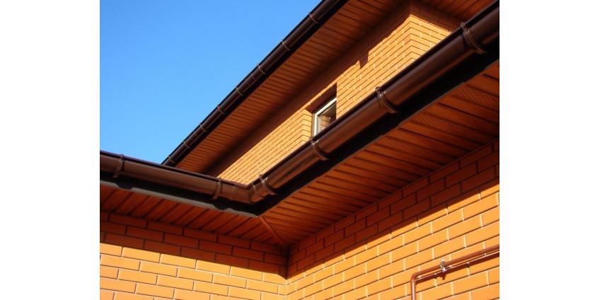 Тонкости выбора водосточной системы крыши