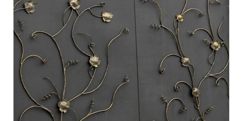 Как покрасить металлические ворота?